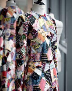 Dior Crazy Quilt Dress