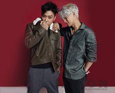 Eun Ji Won, Lee Jae Jin (Sechs Kies) - Nylon Magazine December Issue '16 Sung Hoon, Suwon, Eun Ji, Jiyong, Korean Music, First Baby, Yg Entertainment, Kpop Boy, My Man