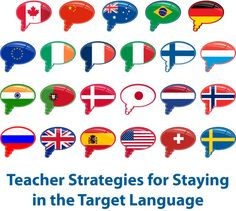 Strategies for Staying In the Target Language, Part III