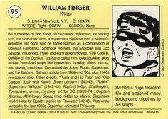 Bill Finger Bio | Moviepilot.com