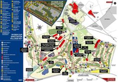Gleneagles Golf Course map, home of the 2014 Ryder Cup