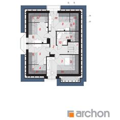 Dom w firletkach Beautiful House Plans, Beautiful Homes, Floor Plans, Interiors, How To Plan, House Of Beauty, Decorating, Home Interiors