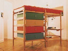 Variation of Ken Isaacs Microdorm Bed