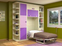 1000 images about recamaras on pinterest bunk bed kids - Dormitorios juveniles espacios pequenos ...
