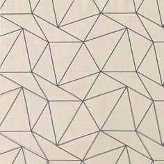 Bomull sand m petrol trekanter Fabrics