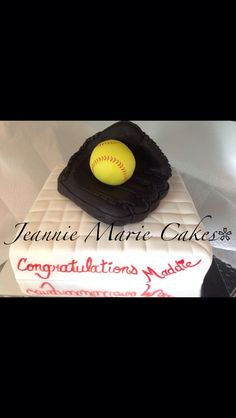 Cake Decorating Classes Near Parker Co : Softball Birthday Cakes on Pinterest