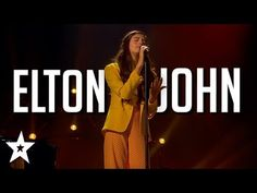 Watch singer and winner Angelina Jordan as she sings Elton John - Goodbye Yellow Brick Road on America's Got Talent: The Champions 2020 (AGT). Angelina Jordan, Goodbye Yellow Brick Road, Simon Cowell, Music Covers, America's Got Talent, Dancers, Music Videos, Singing, Songs