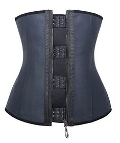 Camellias Latex Waist Trainer Corset Shapewear Waist Cincher Belt Body Shaper * You can find more details at http://www.amazon.com/gp/product/B00WQGVV8Q/?tag=lingeriedirect-20&pyx=220716001609