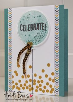 Stuck on Stampin': CASE the Catalog - Celebrate Today, Heidi Boos, Stampin Up, Occasions Catalog