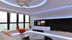 Fully integrated lighting system at an apartment in Gdynia, Poland by MSWW