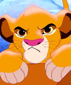 Simba from The Lion King! Favorite movie!!