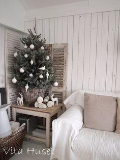 Vita Huset The Night Before Christmas, Christmas Love, Christmas And New Year, Winter Christmas, Vintage Christmas, Christmas Crafts, Xmas, Christmas Ideas, Holiday Tree