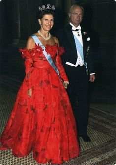 Queen Silvia and King Carl XVI Gustaf