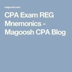 REG is tax heavy, which means only one thing: SO MUCH TO REMEMBER. Luckily, we've put together some REG mnemonics to help ease your memory. Accounting Career, Accounting Principles, Exam Motivation, Cpa Exam, Exams Tips, Career Education, Get The Job, Blog, Career Ideas