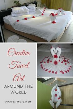 Who would have thought that a humble towel with the main purpose of rubbing wet droplets off your skin or patting your hair dry would get so much publicity? Towel Animals, How To Fold Towels, Hotel Staff, Marriott Hotels, Travel Inspiration, Travel Ideas, Family Travel, How To Memorize Things, Road Trip