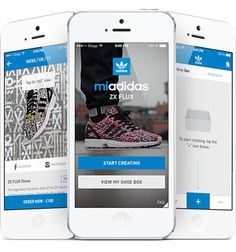 Adidas mi ZX FLUX photo app lets you print your photos on your shoes -- create customized kicks directly from mobile app ( iOS & Android) with photos from your phone. Possibilities are endless! Adidas Zx Flux, Adidas Presents, Adidas Official, Print Your Photos, Email Design, High Resolution Photos, Interactive Design, Custom Sneakers, Shoe Box