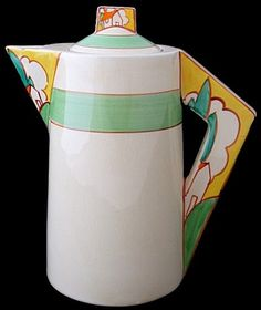 Clarice Cliff Bizarre Conical in Stroud pattern