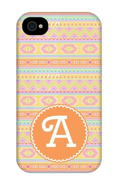 Come shop this Tribal Print Personalized iPhone 4 Tough Case at http://www.putacaseon.me/products/tribal-print-personalized-iphone-4-tough-case . Using our custom case tool you can design your case exactly how you want it.