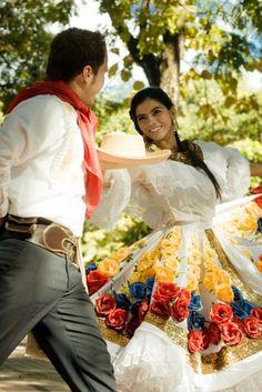 Bambuco danza folklórica de Colombia