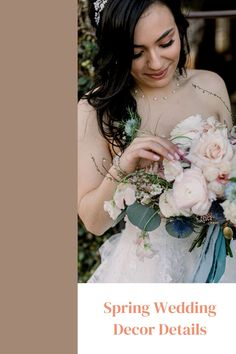 These spring wedding details with a colorful bride bouquet are so romantic! The blush tones complemented this bride's wedding day style perfectly. Colorful Weddings, Wedding Details, Wedding Ideas, Spring Wedding Decorations, California Wedding Venues, Spring Wedding Inspiration, Destination Wedding Planner, Bridesmaids And Groomsmen, Outdoor Wedding Venues