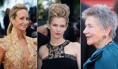 Marion Cotillard y Emmanuel Riva, las más audaces de Cannes en materia de peinados