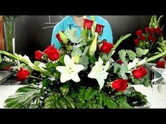 Centro de flores naturales - Cultura de Flor - Sapeando - YouTube
