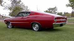 """The very popular Camrao A favorite for car collectors. The Muscle Car History Back in the and the American car manufacturers diversified their automobile lines with high performance vehicles which came to be known as """"Muscle Cars. Best Muscle Cars, American Muscle Cars, Vintage Cars, Antique Cars, Vintage Auto, Mercury Cars, Ford Torino, Ford Classic Cars, Ford Motor Company"""