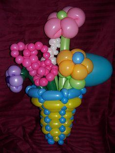 Flower Bouquet Twist Balloon