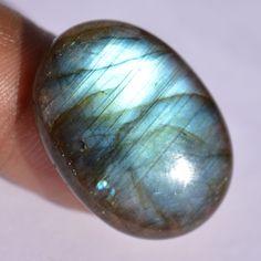 27.45 Cts 100% Natural  Labradorite Oval Cabochon Loose Gemstone Stone #Global1jewels