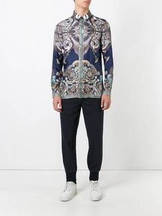 Versace Collection printed shirt