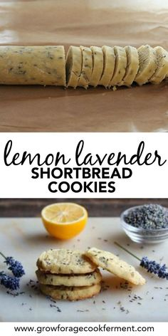 is something special about the combination of lemon and lavender that goes together so well, and these lemon lavender shortbread cookies are a great way to enjoy this magical combination. Click through for this easy and delicious shortbread cookie recipe. Just Desserts, Dessert Recipes, Dessert Healthy, Healthy Food, Cake Recipes, Dessert Food, Healthy Eating, Easy Baking Recipes, Baking Ideas