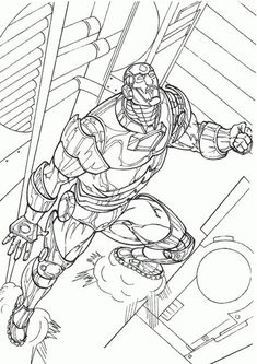 Fun Iron Man coloring pages for your little one. They are free and easy to print. The collection is varied with different skill levels Online Coloring Pages, Free Printable Coloring Pages, Coloring Pages For Kids, Coloring Books, Iron Man Image, Ouvrages D'art, Superhero Coloring Pages, Iron Spider, Art Mural