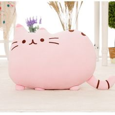 New Arrival 40*30 CM Cat Pillow Kids Toys Cute Pusheen juguetes Plush Toys Kawaii  peluche Animals Cushion Christmas Gifts