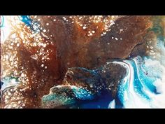 Creating Cells with  Liquitex Pouring Medium and Silicone w/ Sarah Fezio - YouTube