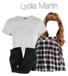 Lydia Martin - tw / teen wolf by shadyannon on Polyvore featuring polyvore fashion style Topshop clothing