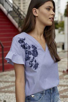 Blusa Bordada Colcci - comprar online