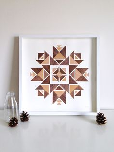 centre by Beth Elise Decor, Wood, Inspiration, Frame, Home Decor