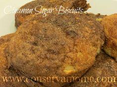 Recipe: Cinamon Sugar Buscuits - ConservaMom