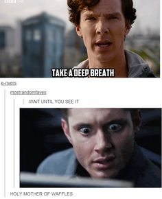 Whoa!!! And may i just say... perfect use of supernatural gif! *applause*