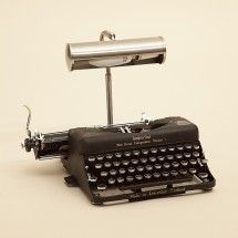 typewriter lamp for all those writers out there
