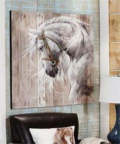 Cadre horse head