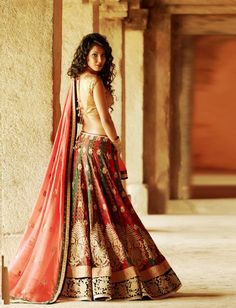Lehenga by Heena Kochhar https://www.facebook.com/pages/Heena-Kochhar-Pret-Couture/119253441480765