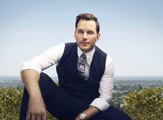 Chris Pratt photographed by Kurt Iswarienko for GQ UK. Dec, 2016