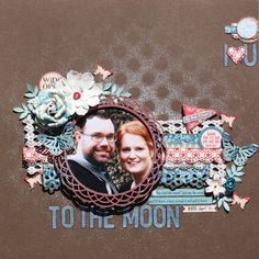 October Afternoon Sasparilla Layouts by Wendy Smith