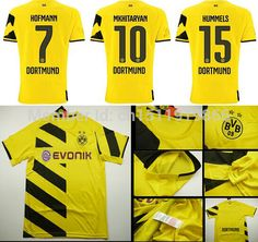c8ef05c69 Find More Sports Jerseys Information about Top fashion Hot sale 2014 15  Borussia Dortmund home football jersey Thailand best Quality Soccer Jerseys  Shirt ...