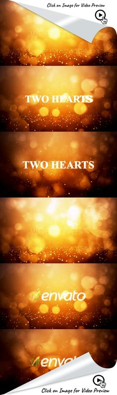"black, brown, business, cinema, corporate, flares, intro, movie, nightly, opener, orange, shine, text, title, tv, after effects templates, after effects ideas, after effects motion graphics, after effects projects, videohive projects Allow me to introduce my new project ""Two hearts"". The project is executed in the style of movie titles (movie titles). It works well for your movies, slideshows and presentations. Also, this project is well suited for identifying your company logo. The pro..."