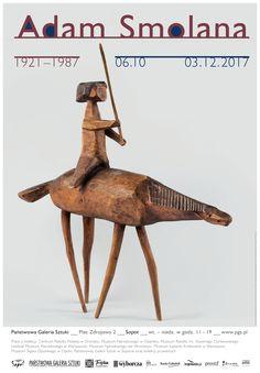 """""""Adam Smolana 1921-1987"""" 6 X - 3 XII 2017 Państwowa Galeria Sztuki w Sopocie"""