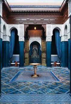 Beautiful Riyad in Morocco