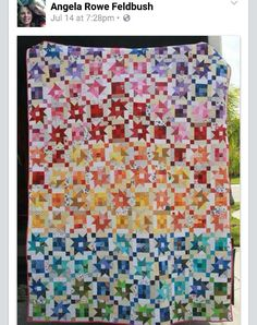 Angela's completed her Mai Tais in Paradise Quilt! This quilt started out as a…