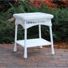 @Overstock - Tortuga Outdoor Portside White Side Table  - Style takes center stage with this beautiful and attractive hand-woven wicker side table in classic white. Add a sense of traditional taste to your outdoor decor with the help of this unique side table.  http://www.overstock.com/Home-Garden/Tortuga-Outdoor-Portside-White-Side-Table/9467619/product.html?CID=214117 AUD              171.98